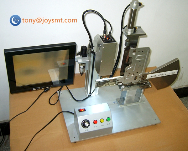 Fuji CP6 SMT feeder calibration jig