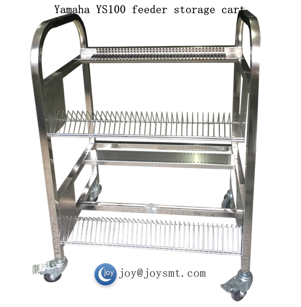 Yamaha YS100 feeder storage cart