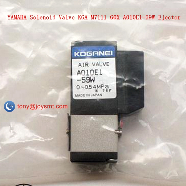 YAMAHA Solenoid Valve KGA M7111 G0X A010E1-59W Ejector