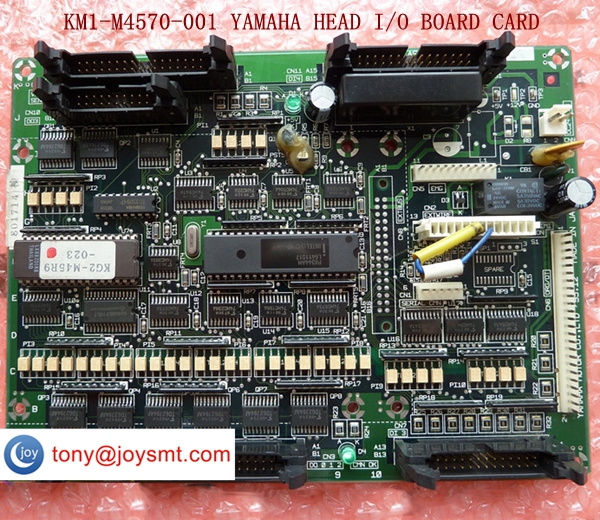 KM1-M4570-001 YAMAHA  YV100II HEAD I/O BOARD CARD