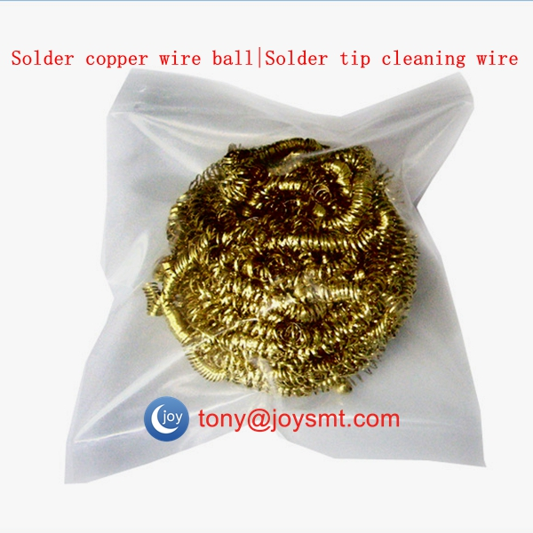 Solder tip cleaning wire  | Solder copper wire ball